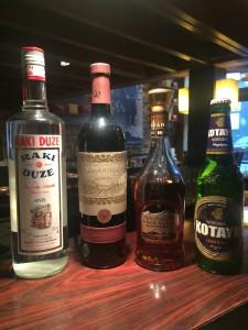 Raki, Vin rouge arménien, Cognac arménien, Bière arménienne